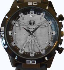 Vitruvian Man New Wrist Watch FAST UK SELLER