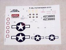 DECALS ACADEMY 1/48ème P-38L PATHFINDER