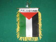 "PALESTINE FLAG MINI BANNER 4""x6"" CAR WINDOW MIRROR NEW"