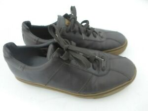 Vintage Louis Vuitton Brown Tennis Shoes Monogram Logo Mens Size 8