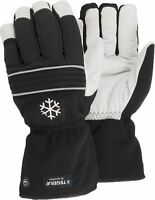 TEGERA Ejendals 296 Waterproof Thinsulate™ 150g Winter Lined Leather Gloves