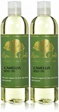 Liquid Gold Camellia Seed Oil 100% Pure Organic Natural for Skin Hair and Health