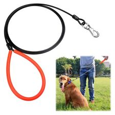 Dog Leash Durable Training Puppy Control Rope Outdoor Walking Traction Wire Belt