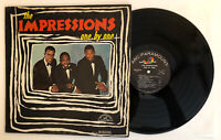 The Impressions - One By One - 1965 US Mono 1st Press (EX) Ultrasonic Clean