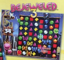 NEW in BOX for PC Bejeweled 3 +Plants vs Zombies +Chuzzle 10 PopCap Games Total
