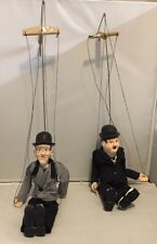 Laurel and Hardy Porcelain Marionettes