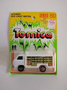 TOMICA SERIES 60 YELLOW CARD - NISSAN CABALL ROUTE TRUCK *NEW*