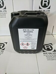 Methanol 20l 99.85% Pure Grade 20 litre For Biodiesel or Racing.