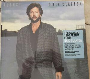 Eric Clapton - August  NEU OVP