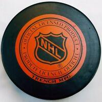 FLORIDA PANTHERS VINTAGE TRENCH MFG. NHL CZECHOSLOVAKIA OFFICIAL HOCKEY PUCK