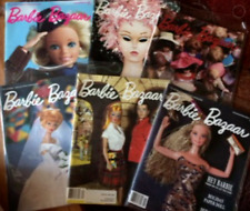 6 Barbie Bazaar Magazine Back Issues 1991 Complete Official Collectors