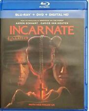 INCARNATE BLU RAY DVD 2 DISC SET FREE WORLD WIDE SHIPPING BUY IT NOW HORROW THRI