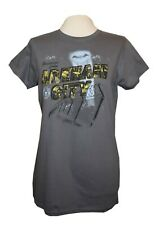 Batman greetings from Arkham City ladies fit t shirt grey size large