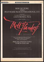 MOLL FLANDERS__Original 1985 Trade print AD promo_poster__KEN RUSSELL__PENTHOUSE