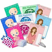 Baby Shower Party Games - Dummy, Prediction & Mummys Tummy - 3 GAMES - 20 player