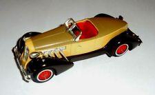 car 1/43 MATCHBOX Y-19 AUBURN 851 SUPERCHARGED SPEEDSTER 1935 BEIG USED NO BOX