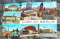 Salutations de Berlin Carte Postale 50er 60er Années Krüger 921/85 Å