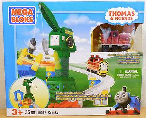CRANKY with SALTY 10517 New Mega Bloks Thomas & Friends NEW RARE