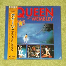 QUEEN At Wembley - RARE 1998 JAPAN RE-ISSUE LASERDISC - NEW & SEALED (TOLW-3277)