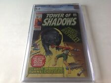 TOWER OF SHADOWS 6 CGC 9.4 WHITE PAGES BEAUTIFUL COPY GIANT RAT MARVEL COMICS