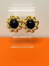 Vintage Christian Dior Gold Tone Earrings