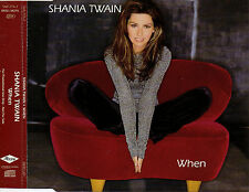 "SHANIA TWAIN ""WHEN"" RARE PROMOTIONAL CD SINGLE"