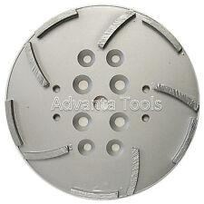 "10"" Concrete Grinding Head for Edco Blastrac Floor Grinders - 10 Segments"