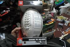 New York Giants Super Bowl 42 Football with kicking Tee New in Box