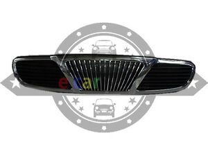 DAEWOO LEGANZA 8/1997-1/2002 CHROME/ BLACK FRONT GRILL
