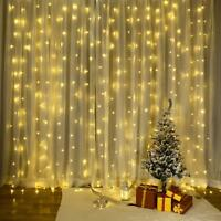 USB 300Led String Fairy Lights Indoor/Outdoor Garden Curtain Party Wedding Xmas