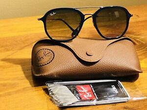Ray•Ban Blue Rectangle 52mm Sunglasses RB4273