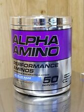 Cellucor Alpha Amino Icy Blue Razz 50 Servings Performance BCAA
