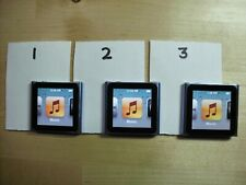 Apple 6th gen ipod nano blue 8GB - Exceptional, your choice of 3 all with music