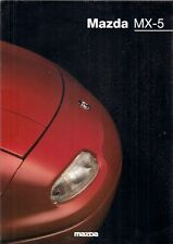 Mazda MX-5 1995-98 UK Market Sales Brochure 1.6i 1.8i 1.8iS