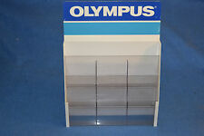 Olympus Camera Brochure Rack for retail store diplay