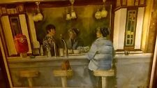 Reflection at the Counter by MJune 1985 oil paintings