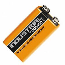 10x Duracell 9V PP3 industriale PROCELL Batterie, allarme fumi (LR22 Blocco MN1604)
