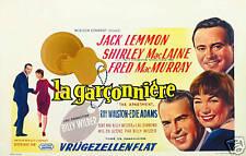 The appartment Jack Lemmon vintage movie poster print