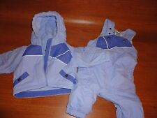 * Infant Girls 6 mos $113 Columbia Snow Suit Coat Pants Snowsuit Purple 2 pc Set