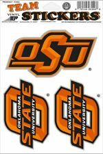 differently ccddc 4db06 Oklahoma State University 3 Large Decal Stickers Cowboys