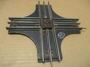Vintage 020 Lionel 90 Degree Crossing Track W/Silver And Black Metal Tag!!