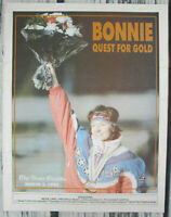 Bonnie Blair Quest For Gold March 2 1992 News Gazette Paper Olympic Skater