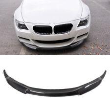 Fits BMW 6 Series E64 M6 2Door 06-10 Front Bumper Lip Spoiler Carbon Fiber Refit
