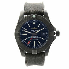 Breitling Avenger II GMT Volcano Black Steel Automatic Watch M3239010/BF04-253S