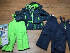 ✅1x schneeanzug winter (Jacke &Schneehose )74/80 grün/2x Erhältlich f. Zwillinge