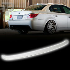 Painted #300 WHITE BMW 5-Series E60 Sedan 4DR A Trunk Spoiler Wing 535i 530xi