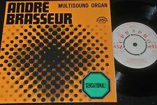 ANDRÉ BRASSEUR Multisound Organ / Czech Reissue SP 1970 SUPRAPHON ARTIA 0330422