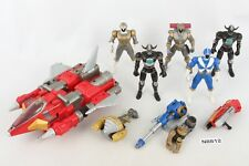 MMPR Power Rangers Lost Galaxy figures, Lightspeed Rescue Red Mobile Armor Vehic