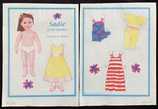 Sadie in the Summer Paper Doll by Anne Donze, Mag. Pd. 2004