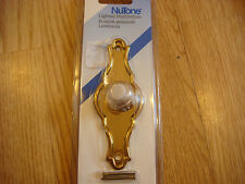 NuTone Push Button Brass Door Bell Chime Buzzer New PB26VLPB